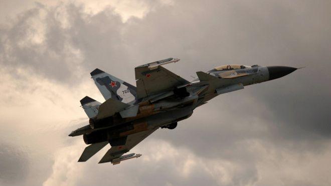 Rusia ataca al Estado Islámico en Siria