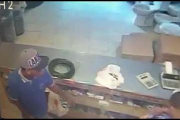 PN muestra el  rostro de uno de  los asesinos de empleado en barrio 27 de Febrero