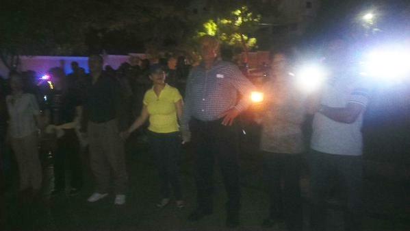 Concluye Cadena Humana frente a la OISOE. Reprimen manifestación