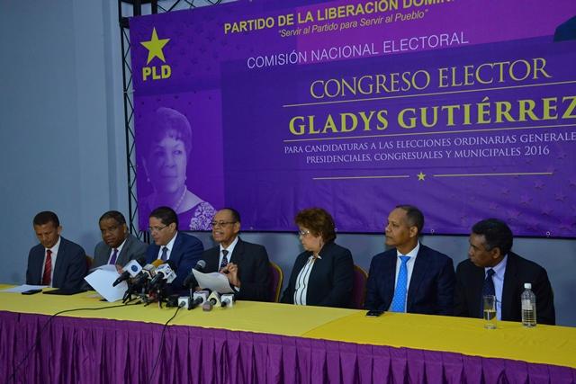 Suspenderán la convención  del PLD en varios distritos