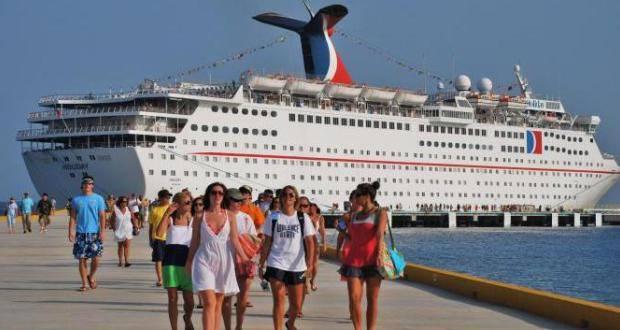 Ocho mil cruceristas arriban a Puerto Plata