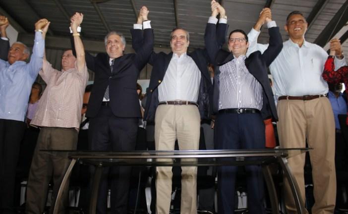 Abinader asegura PRM y aliados rescatarán democracia secuestrada por el PLD