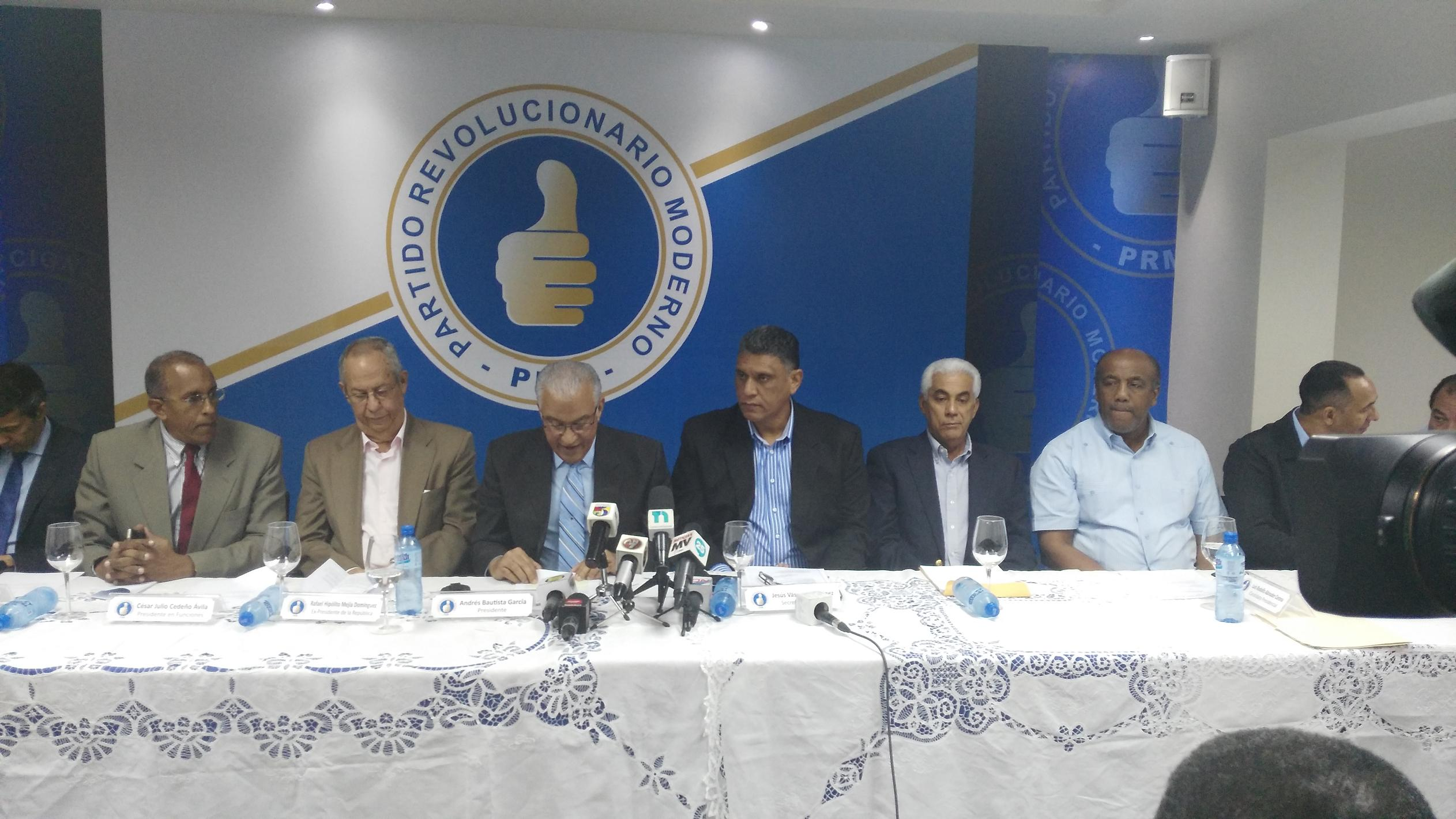 PRM se retira de la discusión del Pacto Eléctrico