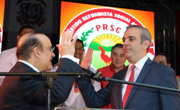 Abinader fue proclamado por el Partido Reformista