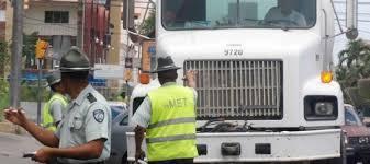 AMET sorprende 31 conductores a exceso de velocidad y retiene 35 vehículos pesados