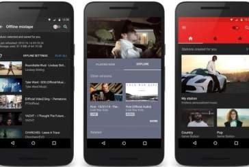 Google lanza la 'app' YouTube Music para celulares Android e iOS exclusiva para música