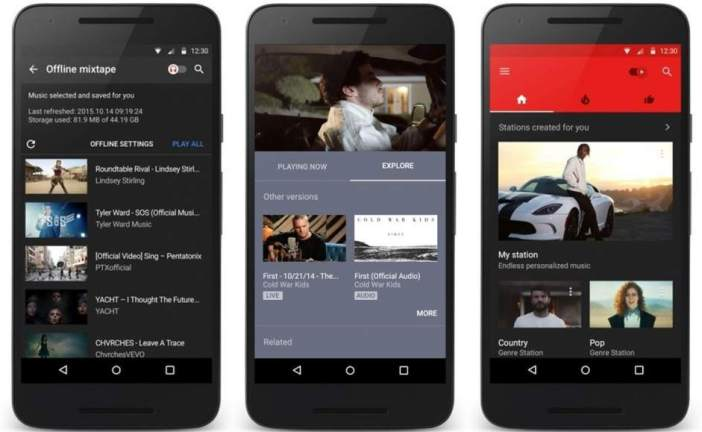 Google lanza la 'app' YouTube Music para celulares Android e iOS exclusiva para música