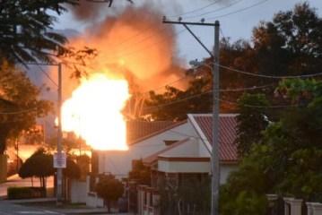 Se incendia otra envasadora de gas, esta vez en San José de las Matas