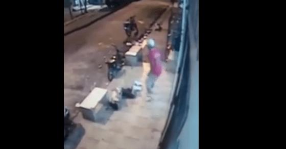 VIDEO. Matan a un joven en Villa Juana dentro de un colmado