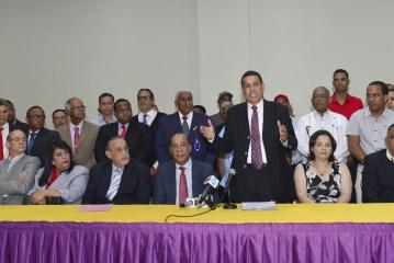 Dirigentes PRSC y PQDC apoyan a Danilo