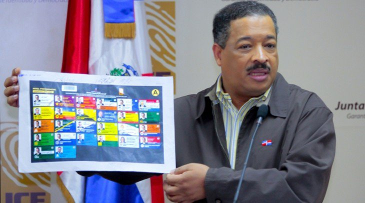 RECTA FINAL: JCE lista para imprimir la boleta presidencial
