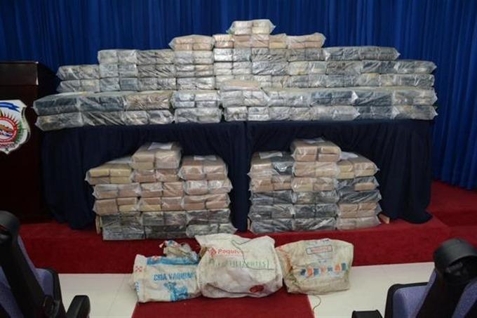 La DICAN incauta más de 4 mil kilos de drogas