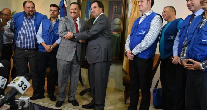 Misión de UNASUR felicita a la JCE por la buena preparación del proceso electoral