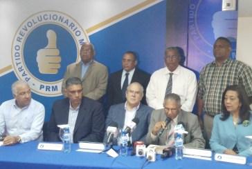 PRM anuncia apoya las demandas de los gremios del sector salud