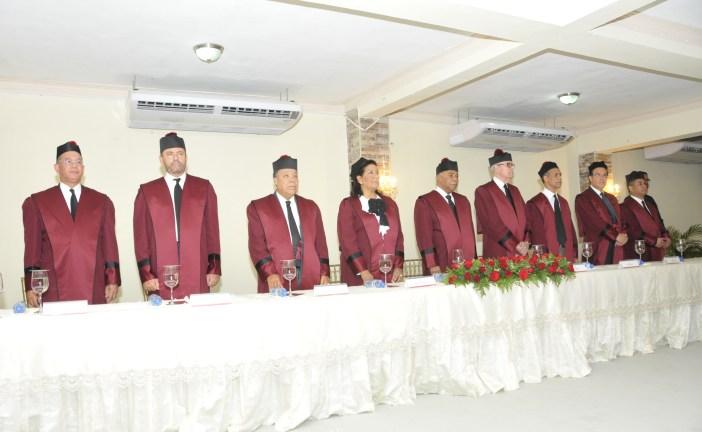 Jueces del TC dictan conferencia en Azua