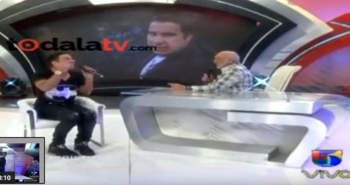 """Cristian Casablanca es zarandeado en """"Divertido con Jochy"""""""