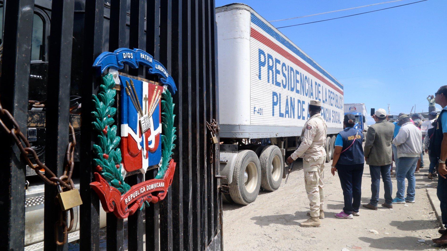 Haití recibe la ayuda de República Dominicana