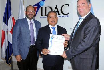 IDAC certifica empresas proveedoras de servicios y asistencia en tierra a las aeronaves