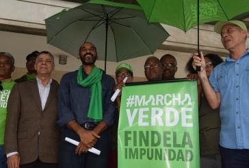 Marcha Verde reclama destitución inmediata del Procurador General de la República