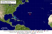 Se forma la décimo novena tormenta tropical de la temporada