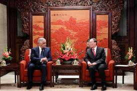 Presidente Danilo Medina dice quieren desacreditar relaciones con China