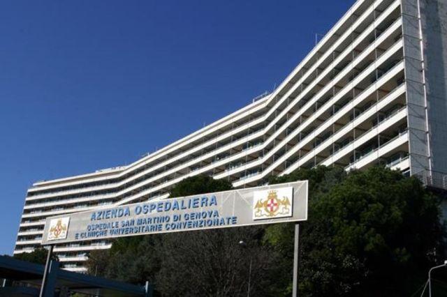 La víctima estaba internada en el Hospital San Martino de Génova.