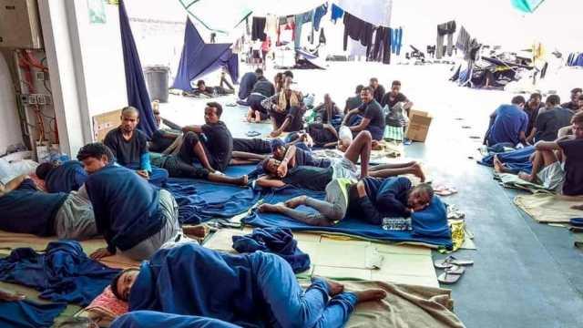 Migrantes del Diciotti.