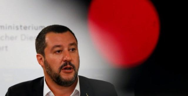 Salvini en Viena. (Reuters)