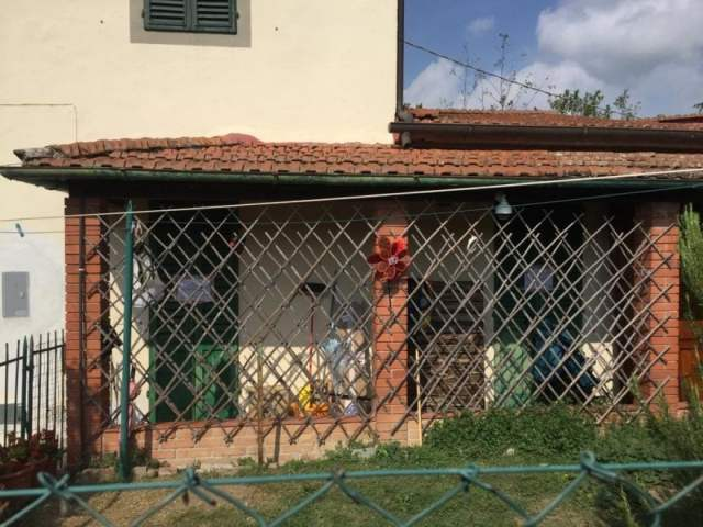 La vivienda familiar donde ocurrió el crimen.
