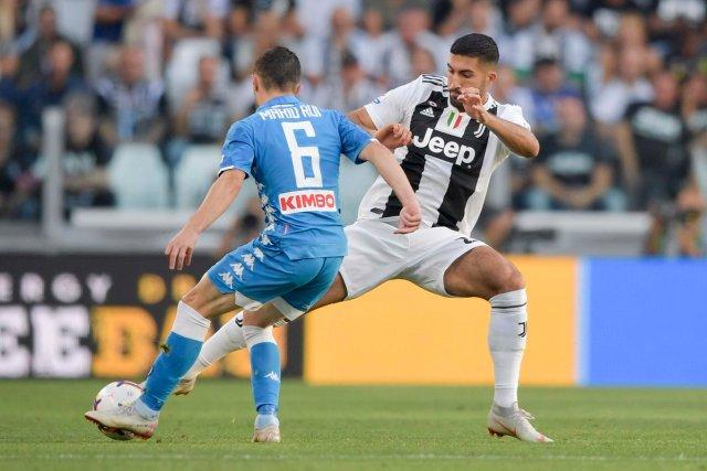Juventus vs. Napoli. (@juventusfc)