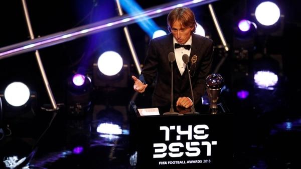 Luka Modric, The Best. (Reuters)