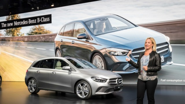 Mercedes-Benz Clase B (foto: prensa Daimler)