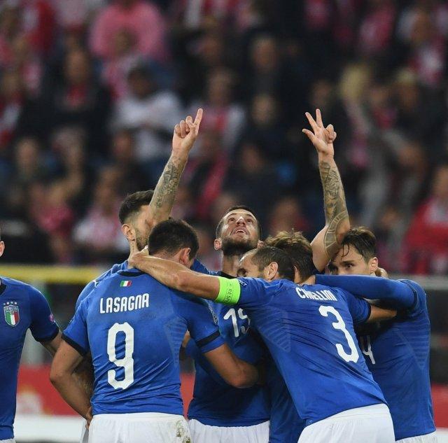 Selección italiana. (@Vivo_Azzurro)