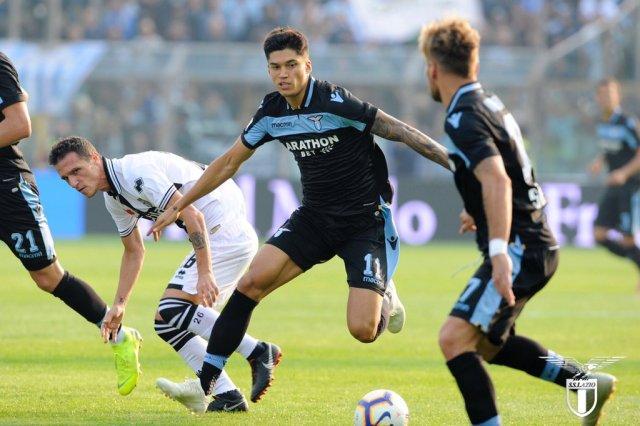 Lazio vs. Parma. (@OfficialSSLazio)