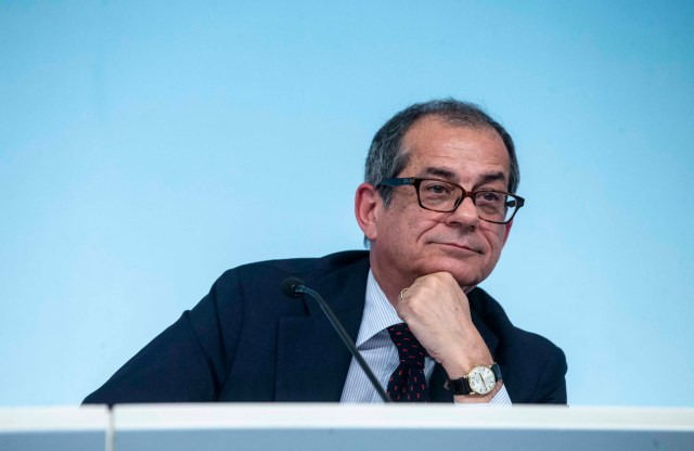 Giovanni Tria.