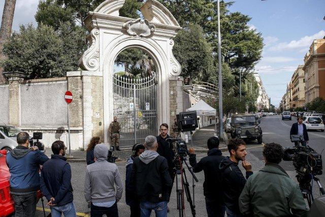 Nunciatura en Roma. (Rai News)