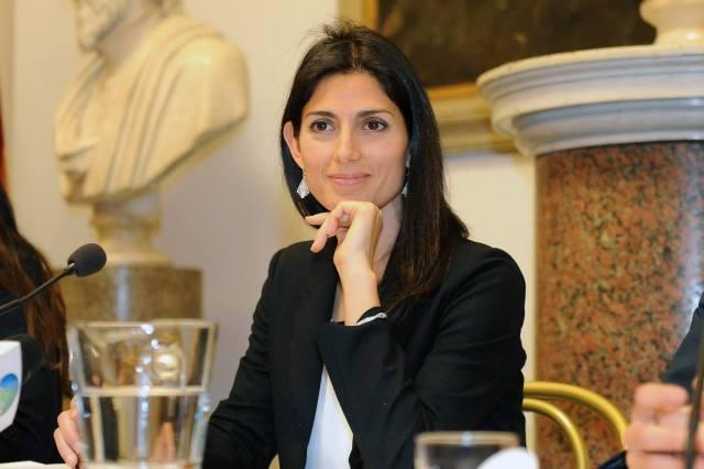 Virginia Raggi, alcaldesa de Roma. (Facebook)