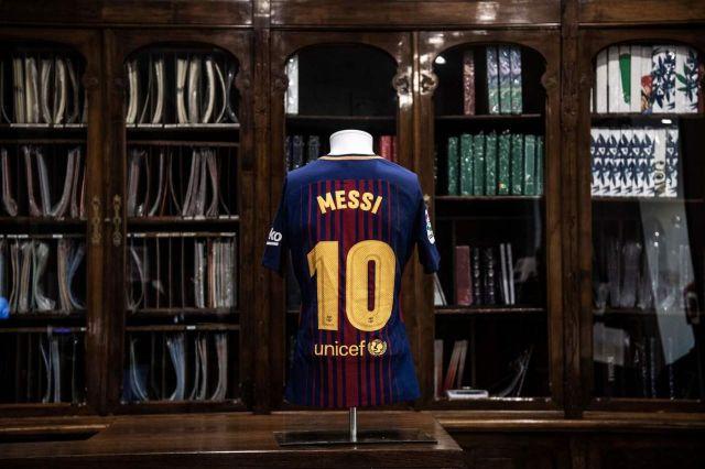 La camiseta de Messi tiene un valor base de 750 euros (Foto: Aste Bolaffi).