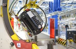 El Jeep Renegade en la planta de Melfi (Foto: FCA Prensa).