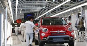 Fiat 500X en la planta de Melfi (Foto: Prensa FCA).