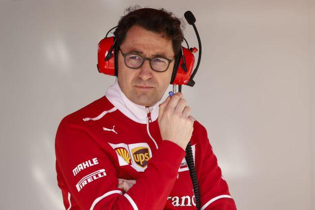 Mattia Binotto llegó en 1995 a Ferrari y desde 2016 es responsable técnico de los monopostos italianos (Foto: Sutton Images).