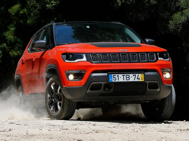 Jeep Compass (Foto: prensa FCA).