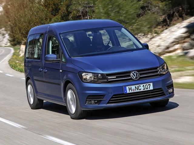 Volkswagen Caddy (Foto: Prensa Volkswagen).