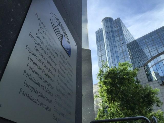 Parlamento Europeo en Bruselas. (Foto: AhoraRoma.com)