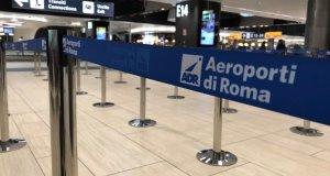 Aeropuerto de Fiumicino.