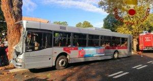 Accidente bus.
