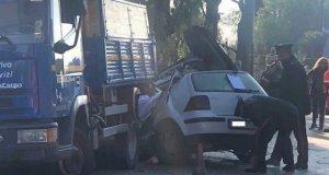 Accidente en Lecce.