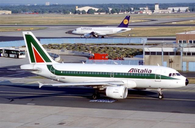 Alitalia y Lufthansa.
