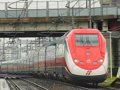 Tren Frecciarossa.