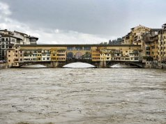 Mal tiempo en Florencia.